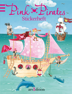 Pink Pirates Stickerheft